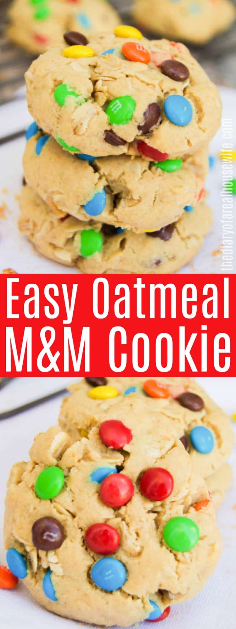 Oatmeal M&M Cookie