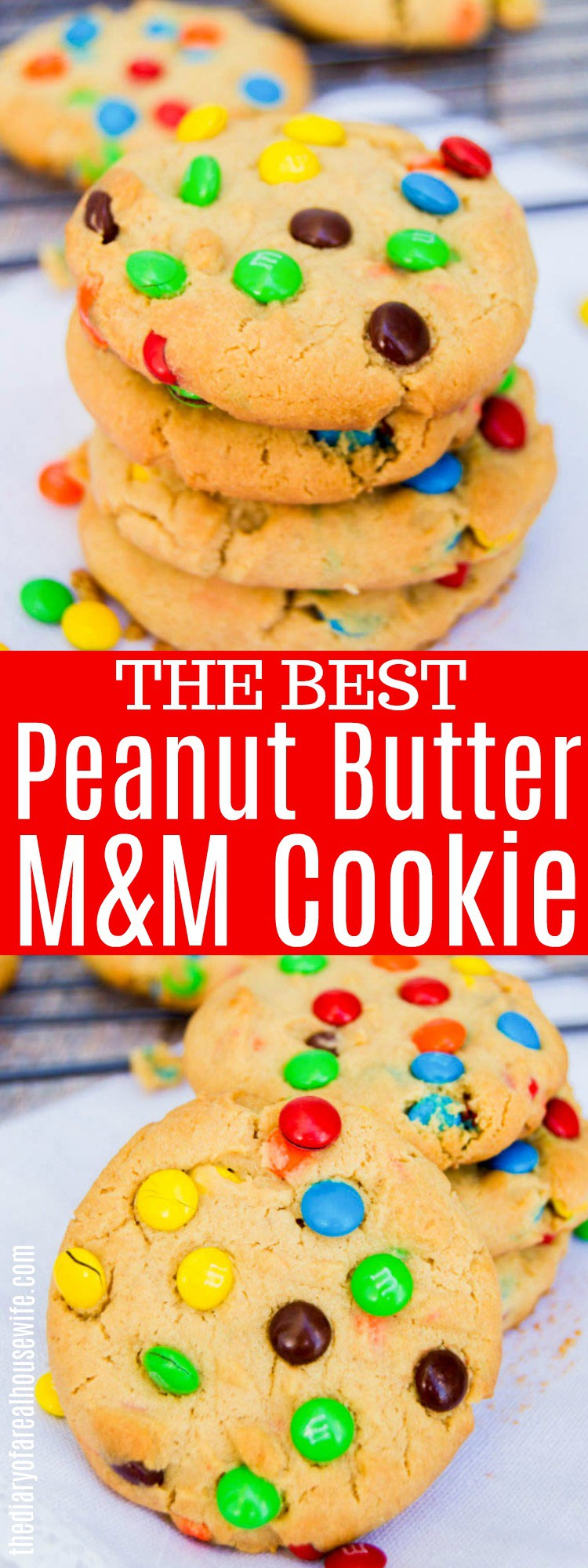 Peanut Butter M&M Cookie