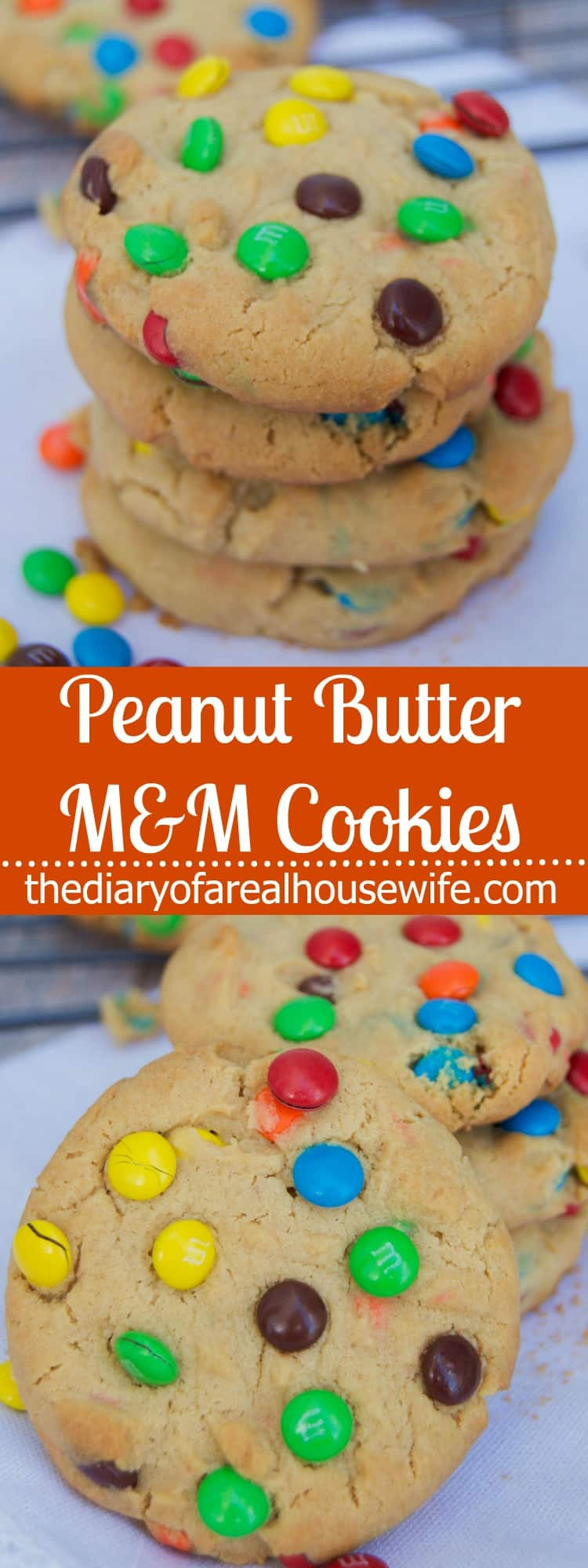 Peanut Butter M&M Cookie