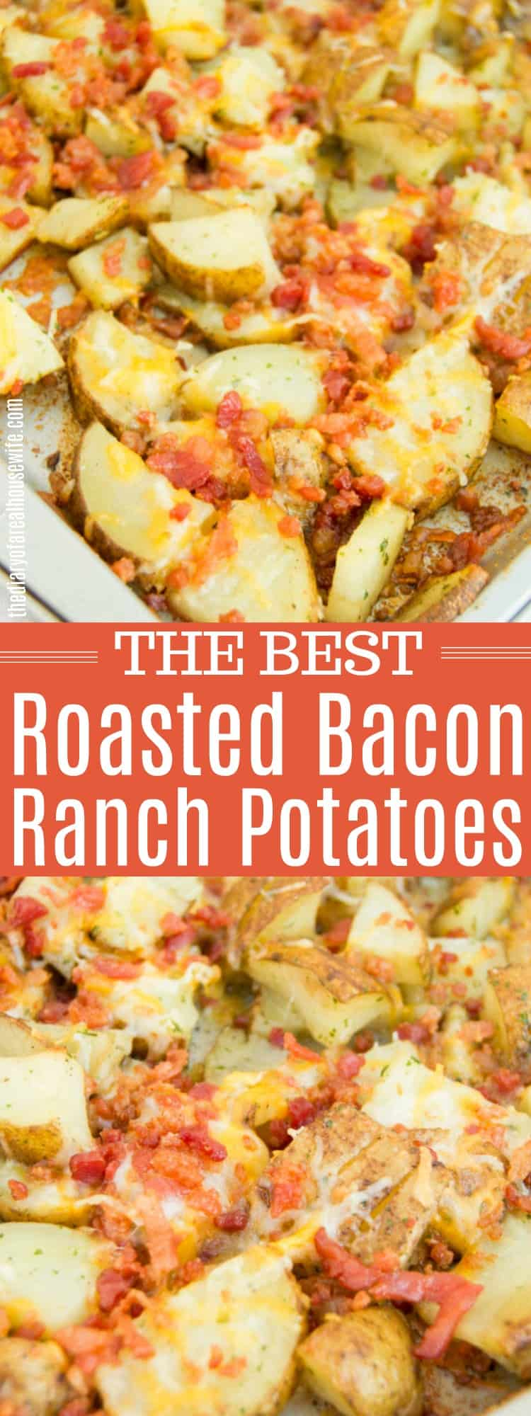 Roasted Bacon Ranch Potatoes