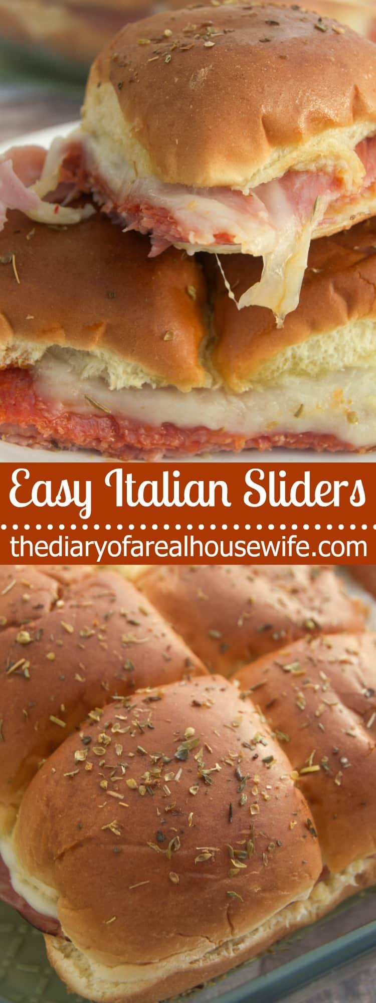 Easy Italian Sliders