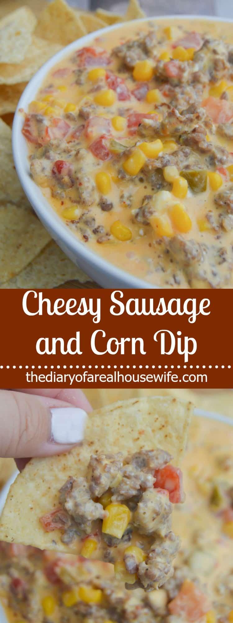 Cheesy Sausage Dip