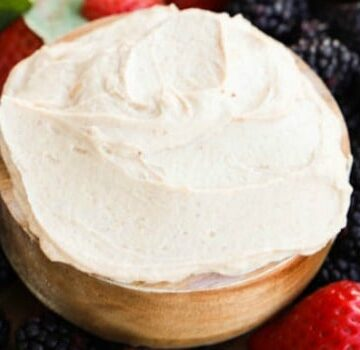 Greek Yogurt Peanut Butter Fruit Dip