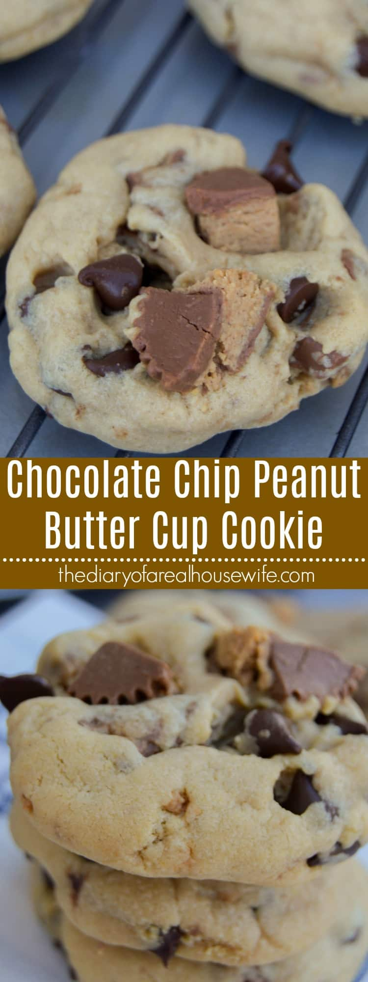 Chocolate Chip Peanut Butter Cup Cookie