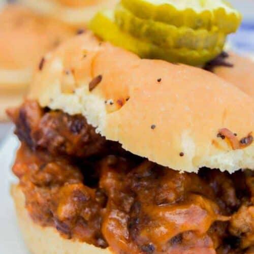 Bacon Cheeseburger Sloppy Joes