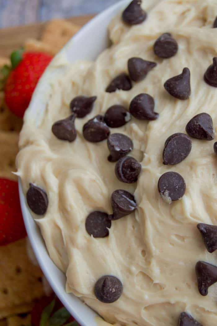 Chocolate Chip Cheesecake Dip