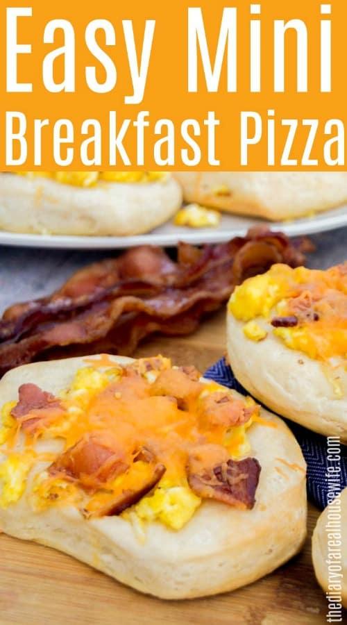 Mini Breakfast Pizza