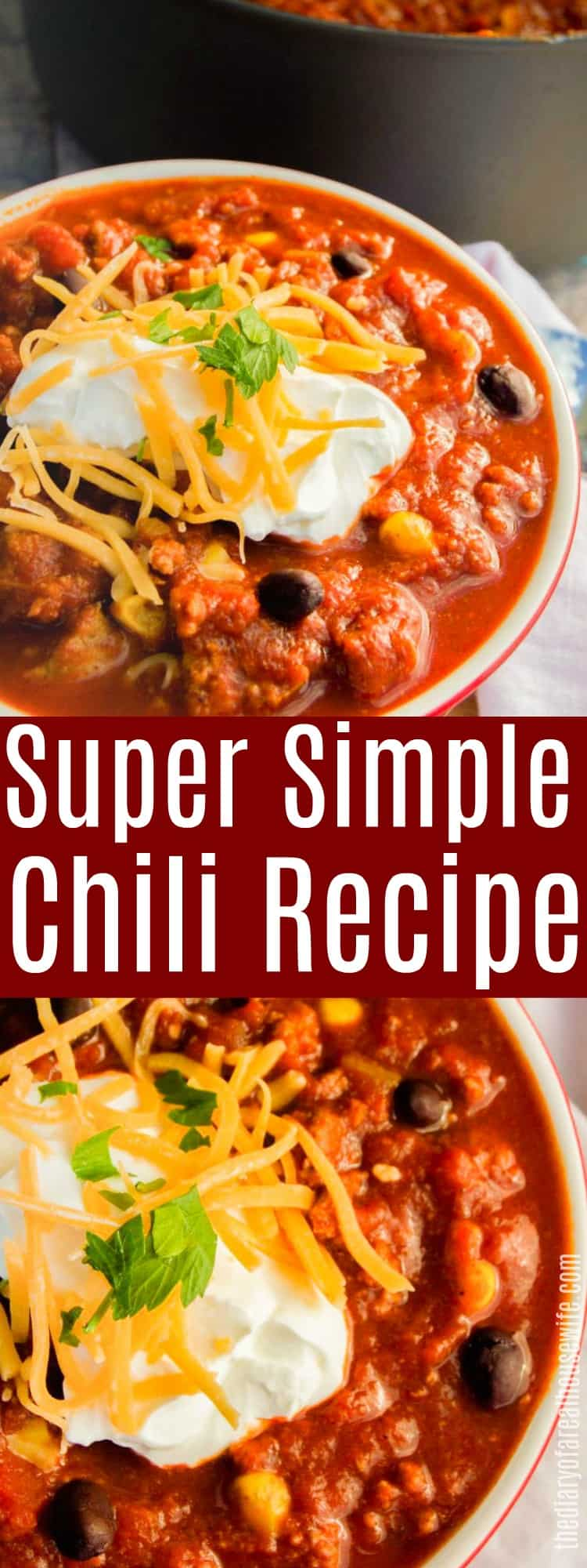Super Simple Chili