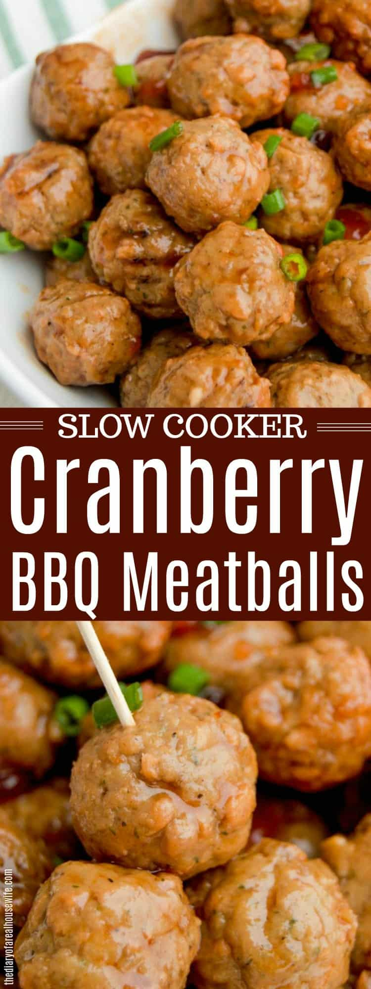 Slow Cooker Cranberry BBQ