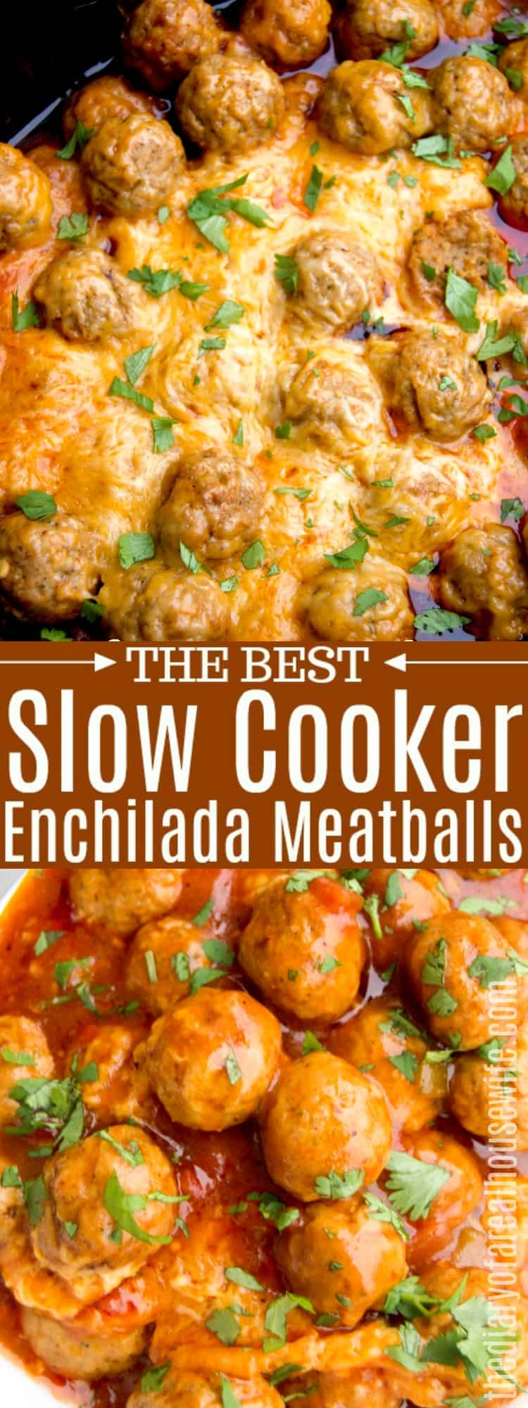 Slow Cooker Enchilada Meatballs