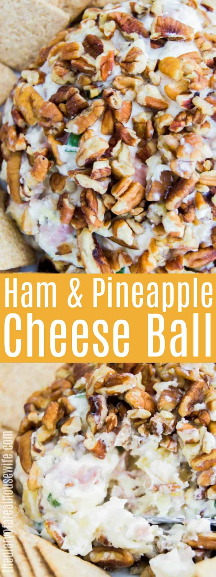 Ham and Pineapple Cheese Ball