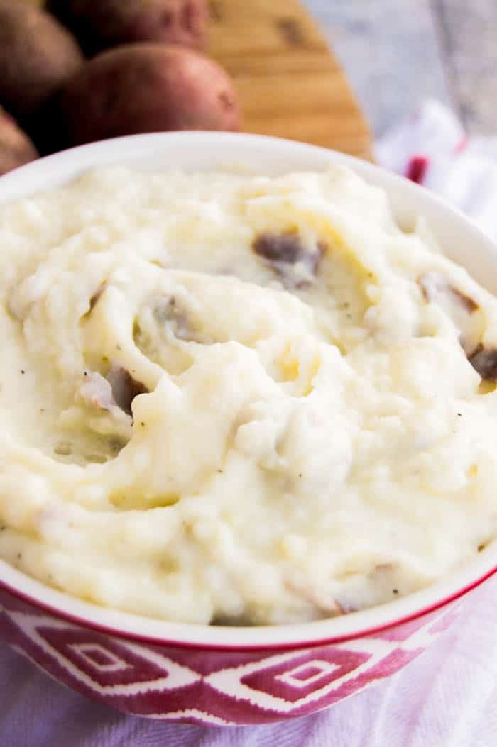 Garlic Red Mashed Potatoes