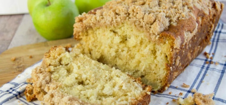 Dutch Apple Pie Bread