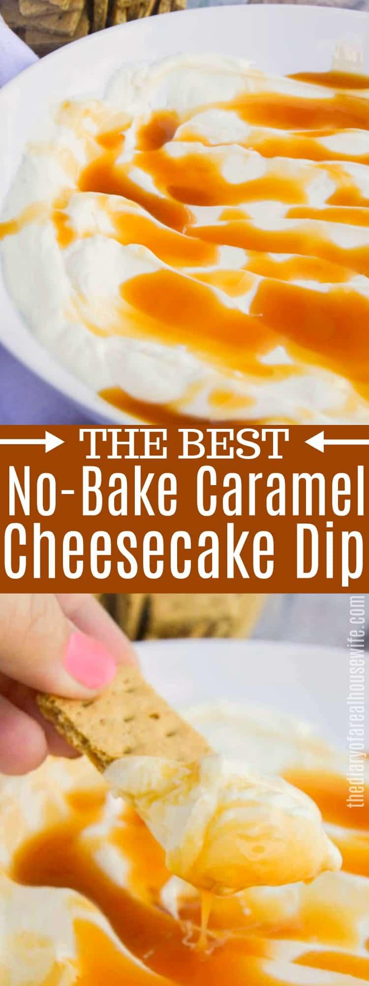 Caramel Cheesecake Dip