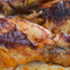 Slow Cooker BBQ Chicken Legs