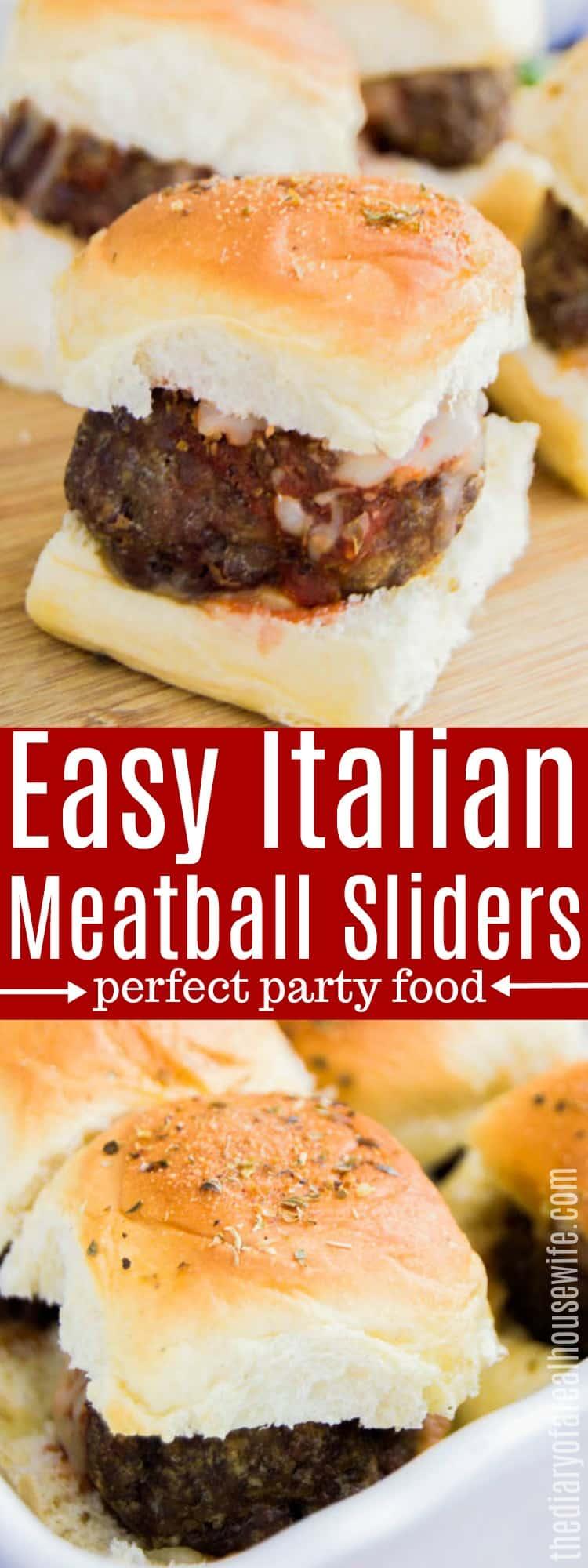 Meatball Italian Sliders