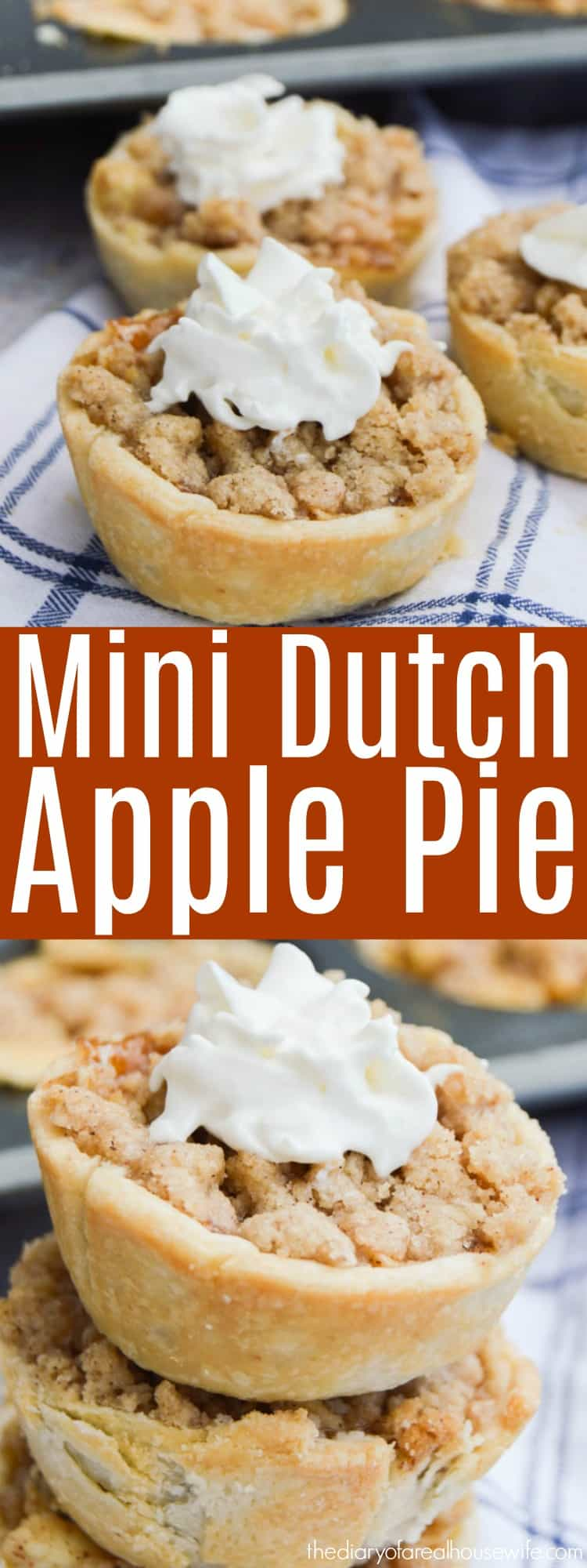 Mini Dutch Apple Pie
