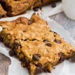 Chocolate Chip Oatmeal Bars