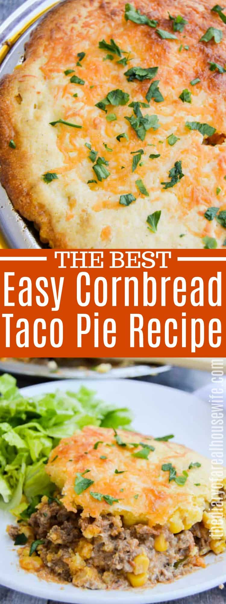 Easy Cornbread Taco Pie