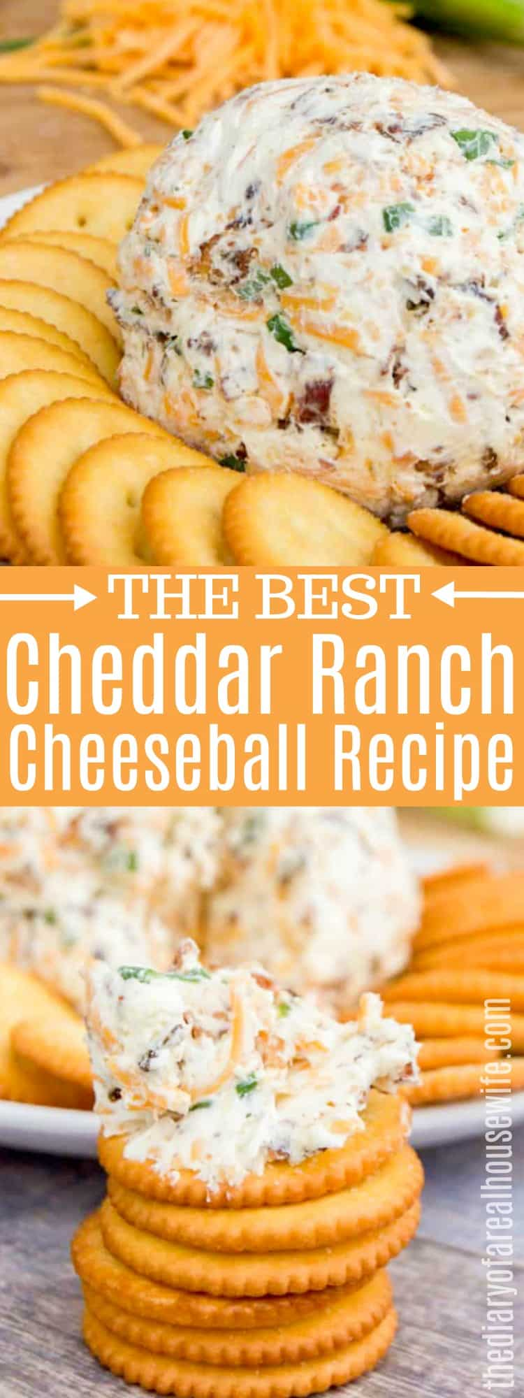 Cheddar Ranch Cheeseball