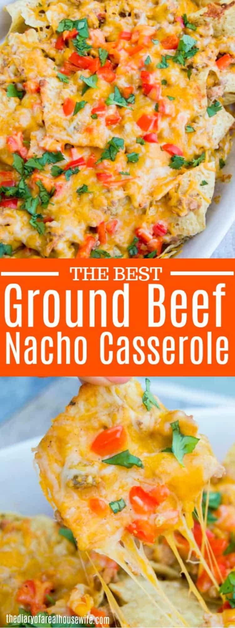 Easy Nacho Casserole