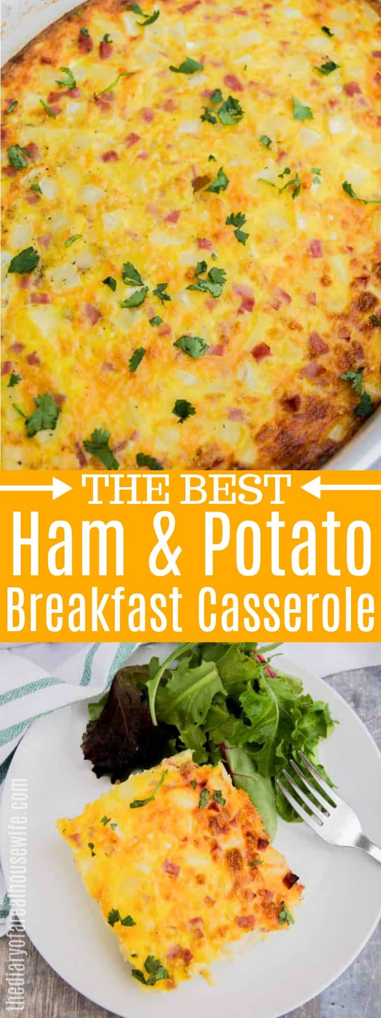 Ham and Potato Breakfast Casserole
