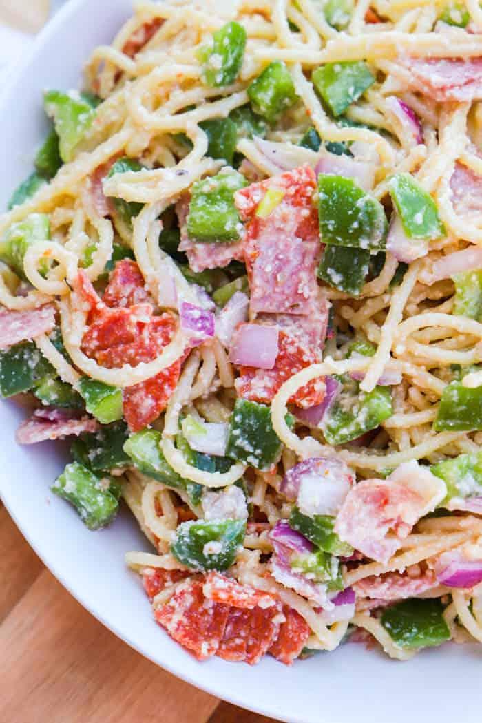 Italian Spaghetti Pasta Salad