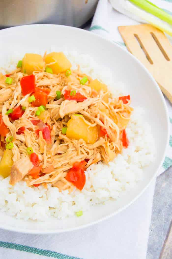 Slow Cooker Pineapple Chicken