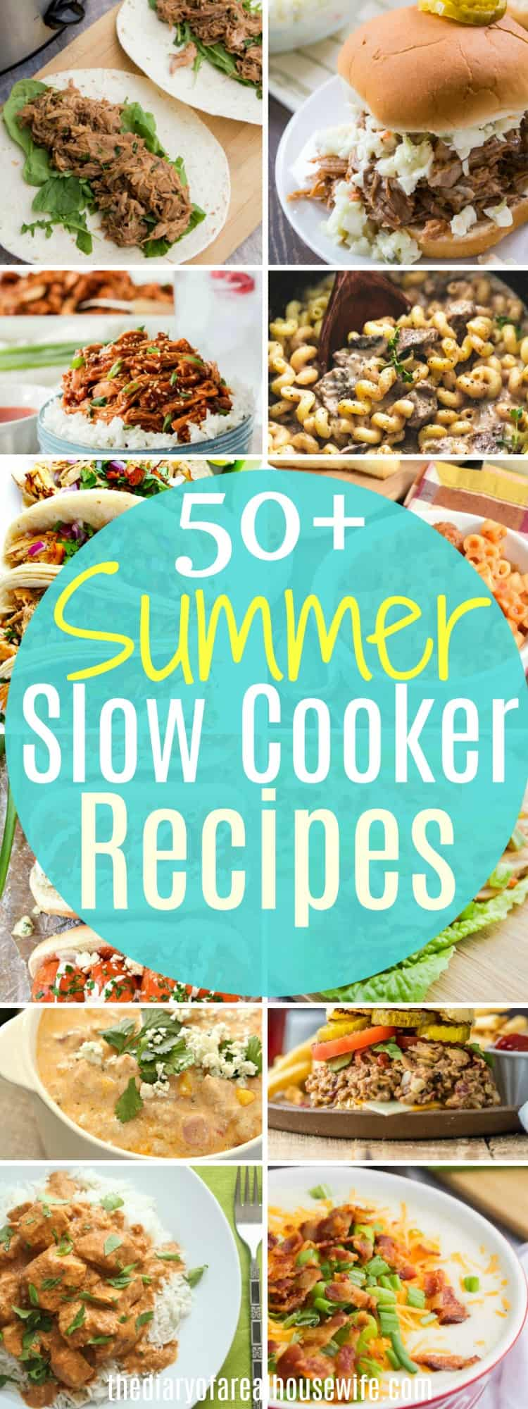 Slow Cooker Summer Recipes