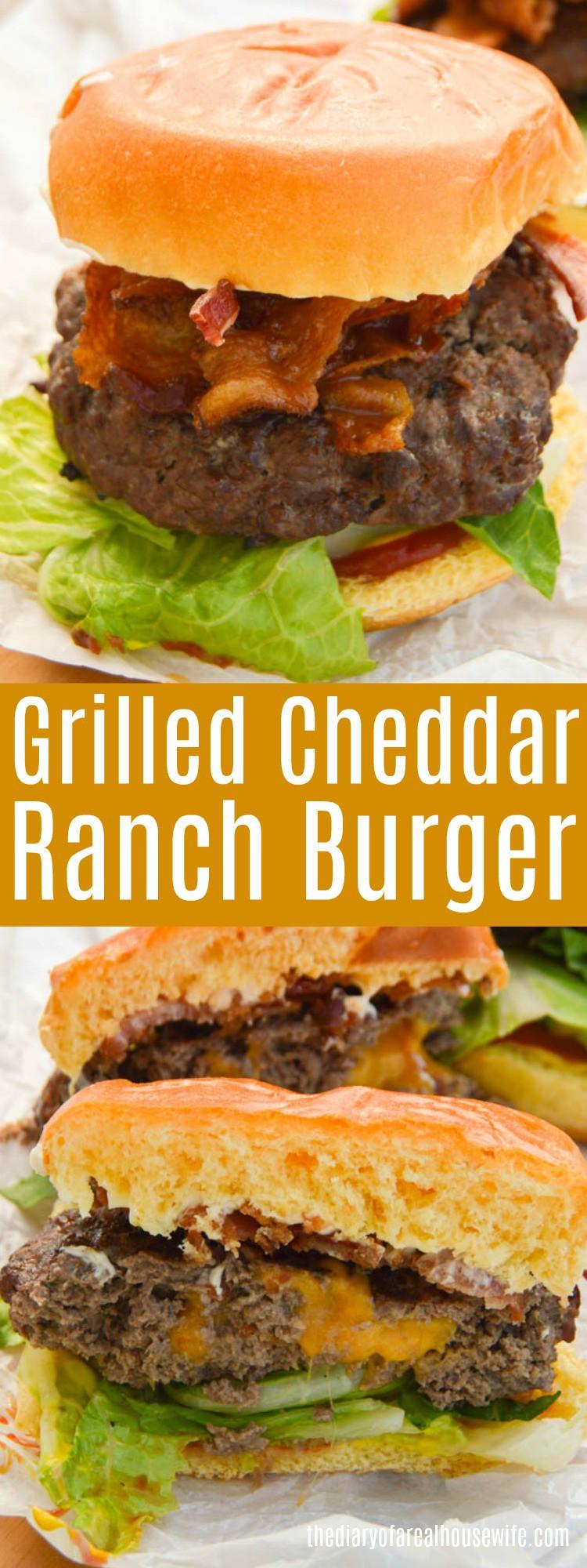 Cheddar Ranch Burger