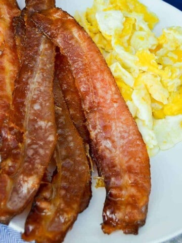 The Perfect Oven Baked Bacon