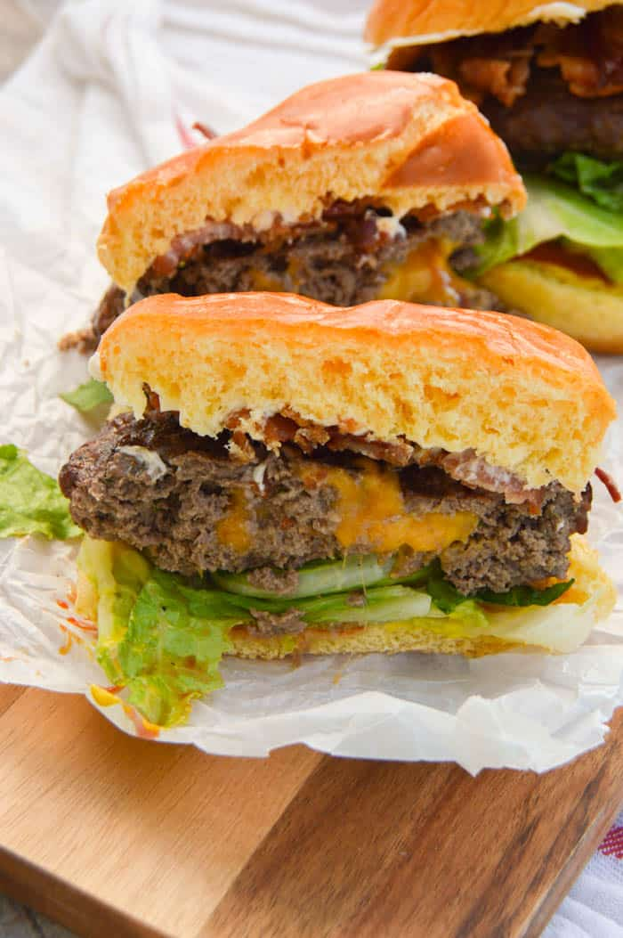 Cheddar Ranch Burger