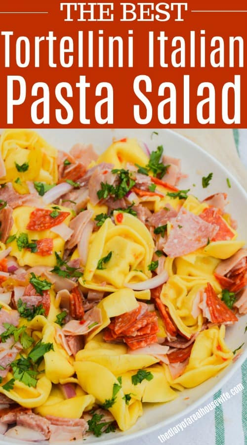 Tortellini Italian Pasta Salad