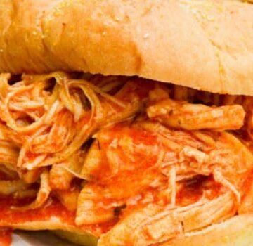 Shredded Buffalo Chicken Sandwich