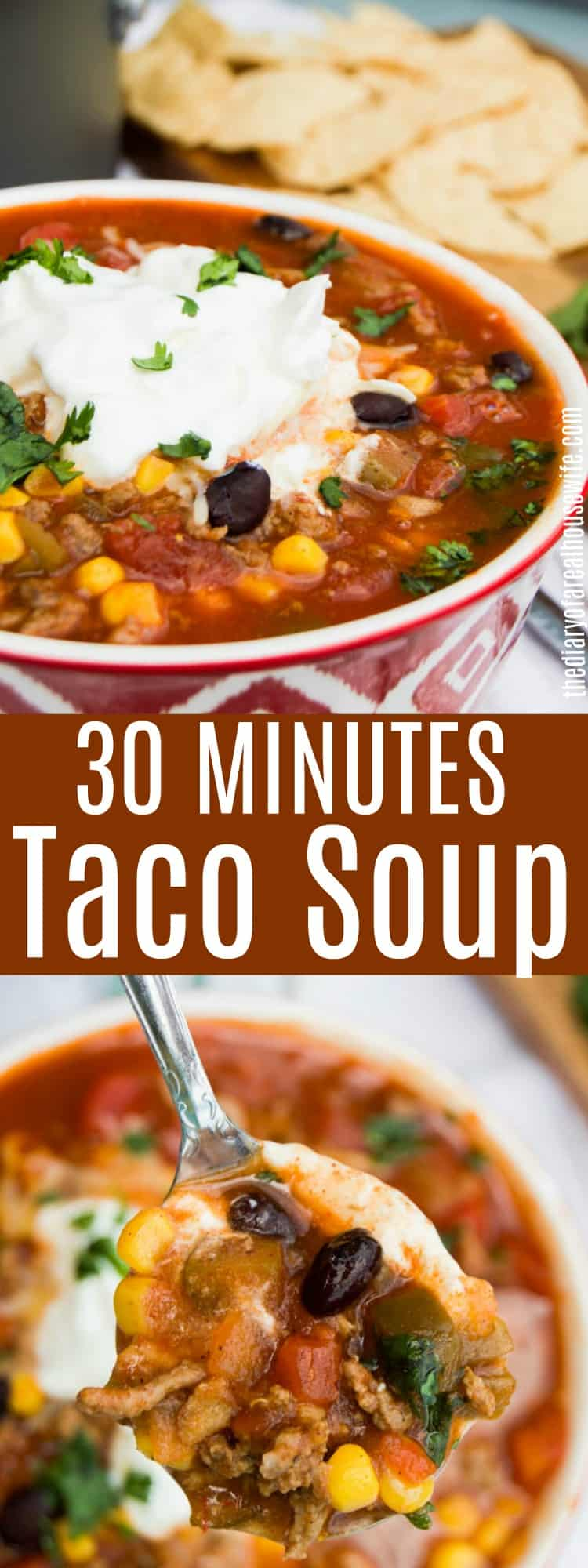 30 Minutes Taco Soup