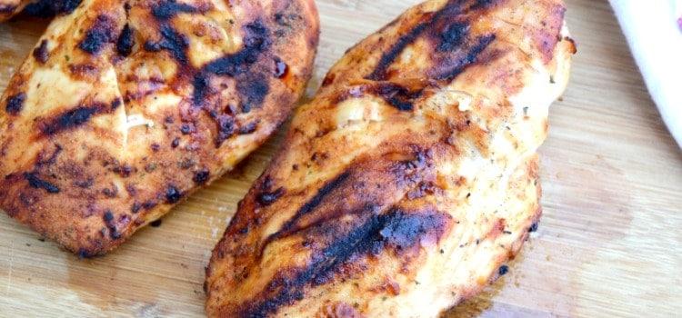 Grilled BBQ Ranch Chicken