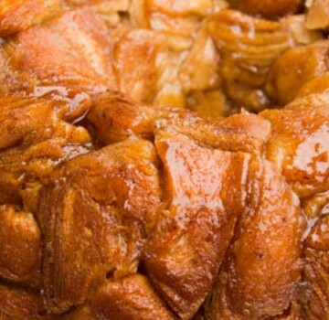 monkey bread close up