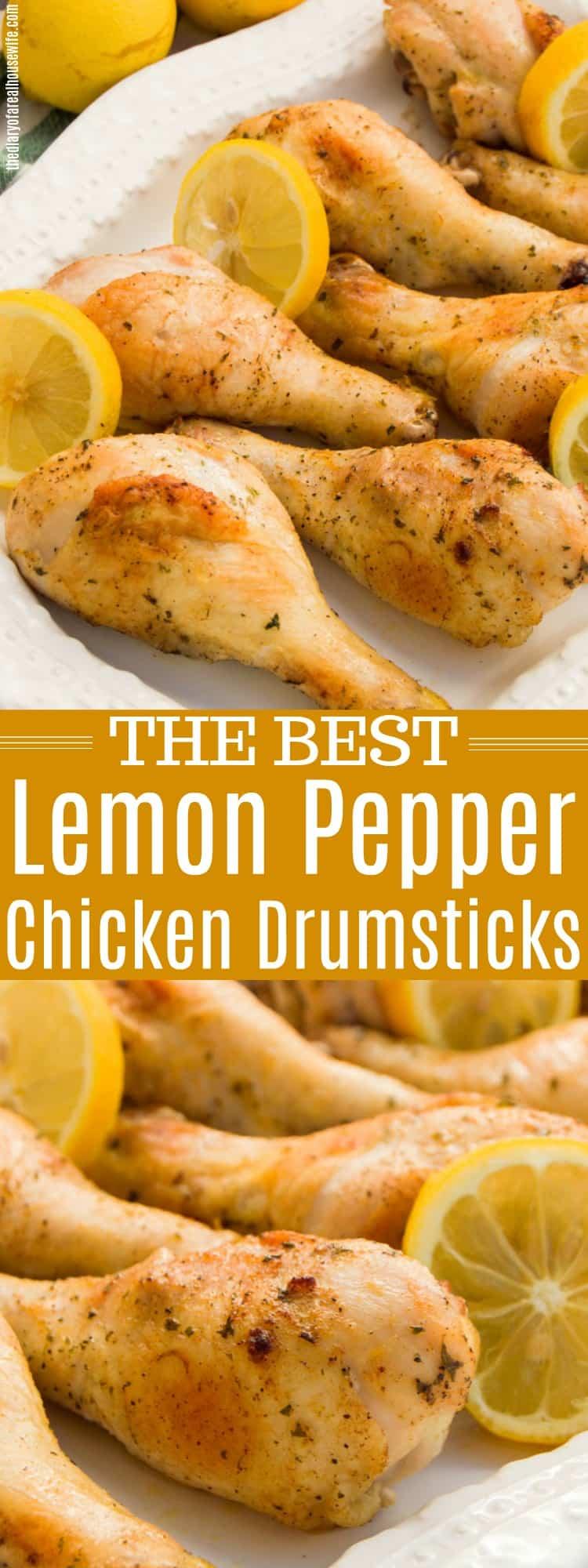 Lemon Pepper Chicken Drumsticks