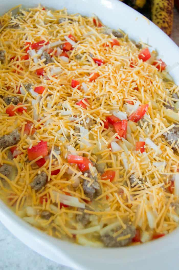 Make Ahead Breakfast Casserole