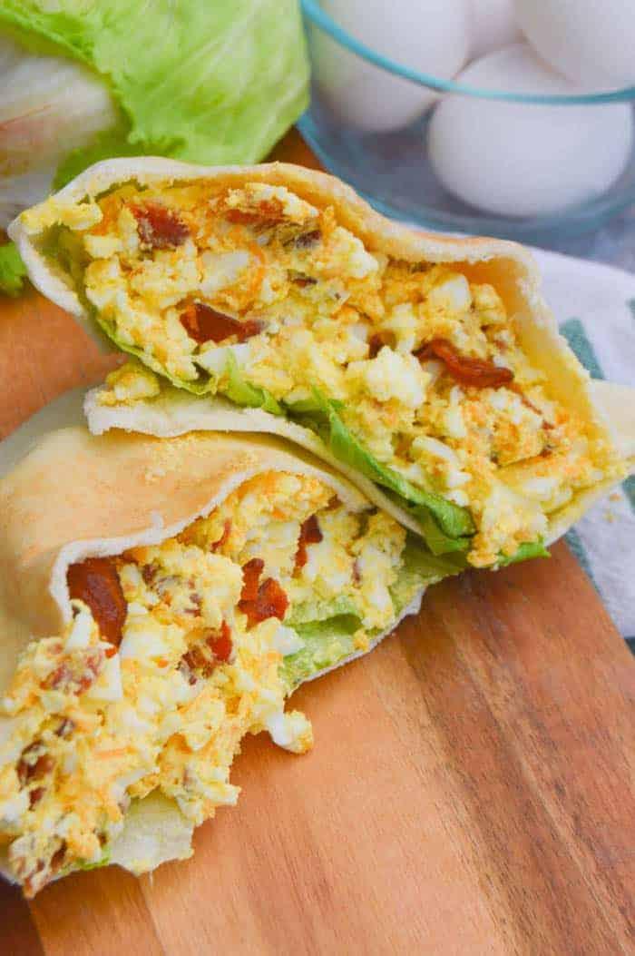 Cheddar Bacon Egg Salad