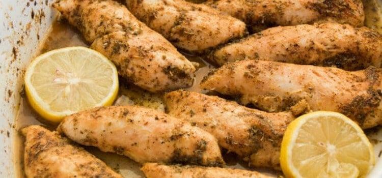 Lemon Pepper Chicken Tenderloins