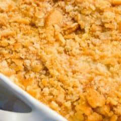 Ritz Cracker Chicken Casserole