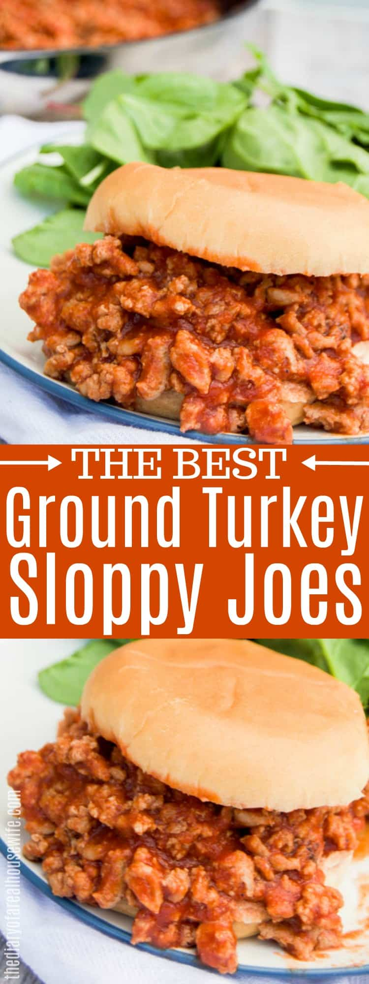 Ground Turkey Sloppy Joes