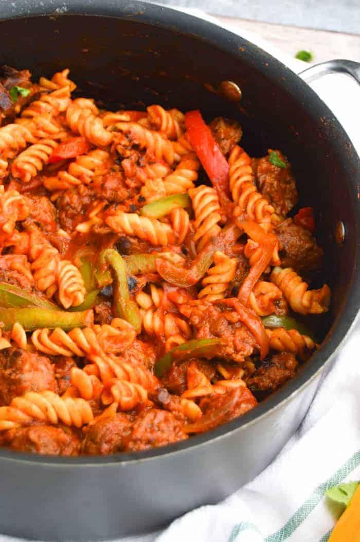 Italian Sausage and Pepper Rotini