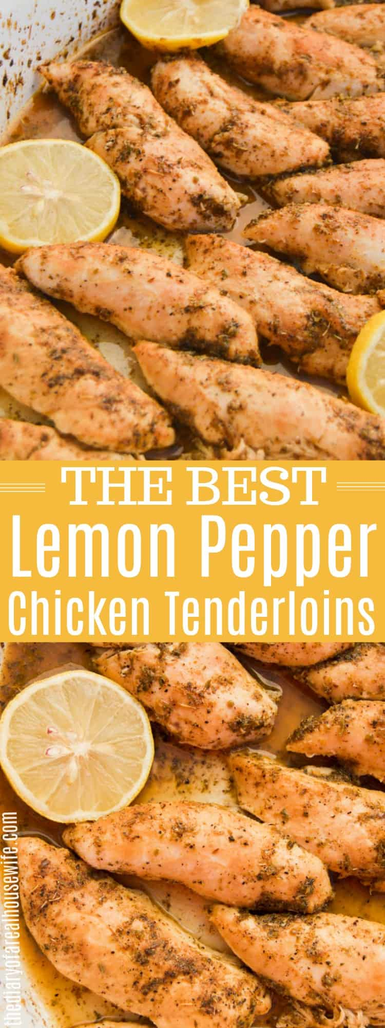 Lemon Pepper Chicken Tenderloins