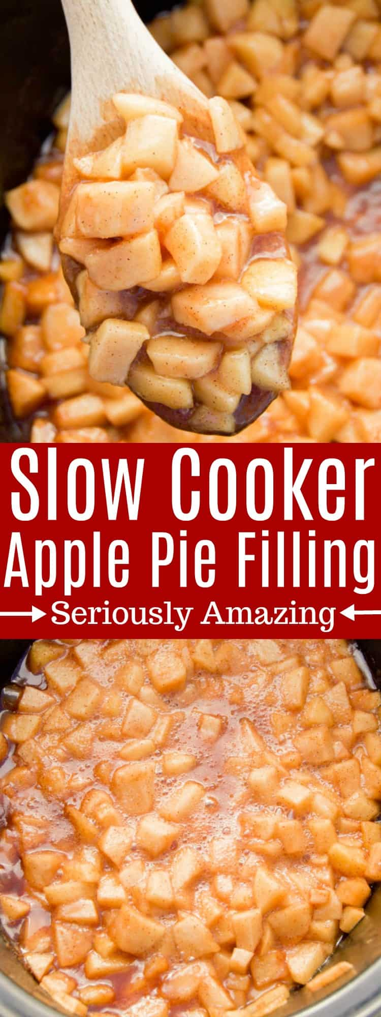 Slow Cooker Apple Pie Filling