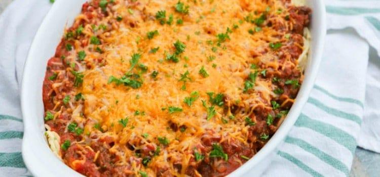 Spaghetti Casserole
