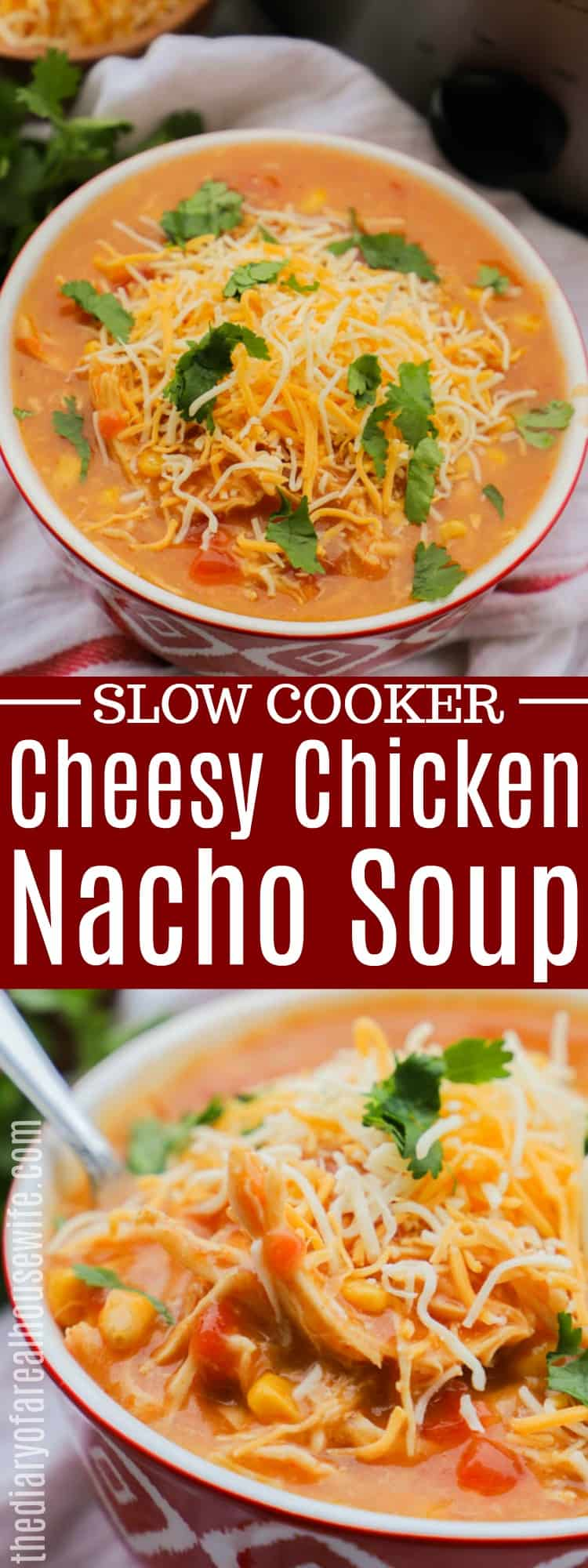 Cheesy Chicken Nacho Soup