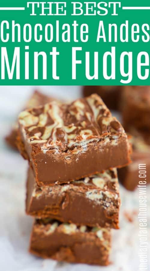 Andes Mint Fudge
