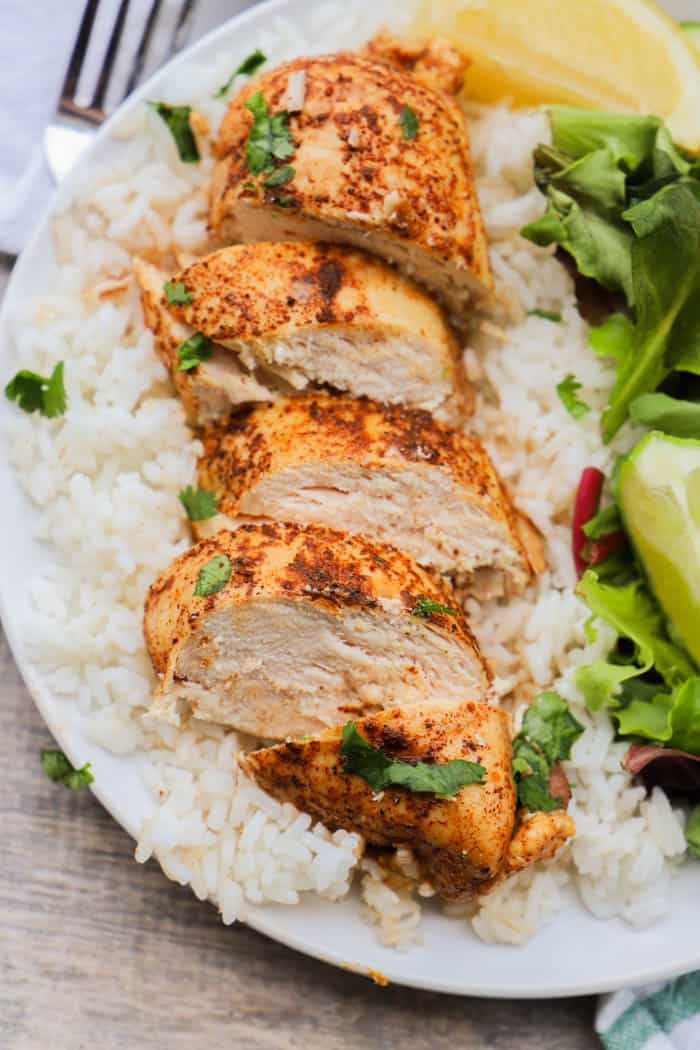 Slow Cooker Lemon Lime Chili Chicken